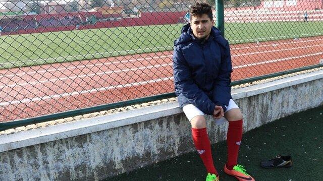 Gülbey Türkücü, ilk maçında iki gol kaydetmişti.