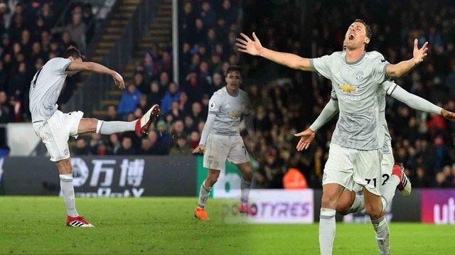 Nefes kesen maçta United son nefeste galibiyeti buldu (2-3)