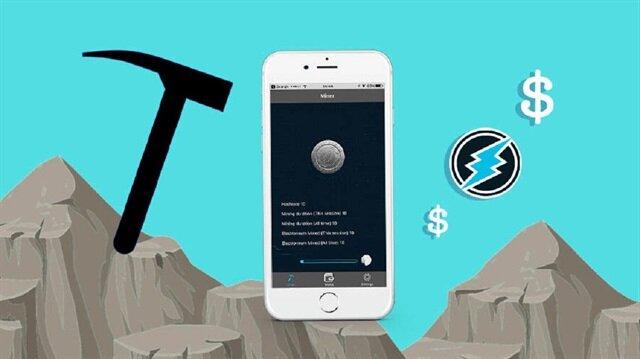 Electroneum bir uygulama sayesinde cep telefonunuzu kripto madenciliği için kullanıyor.