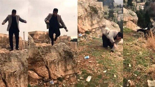 Türkiye'nin konuştuğu adamın kızı da aynı yerden düştü