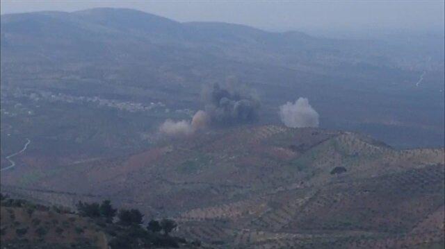 Savaş uçakları terör hedeflerini böyle vurdu!