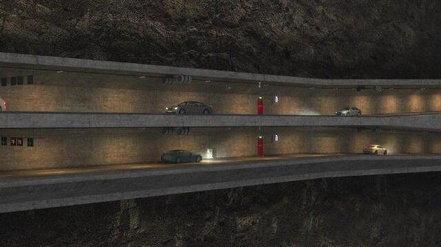 Tünel, karayolu geçişini de barındırdığı için YİD modeline uygun hale gelecek.