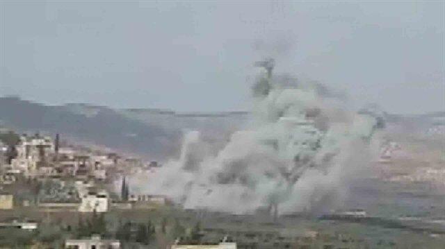 Türk savaş uçakları Cinderes'de terör hedeflerini böyle bombaladı