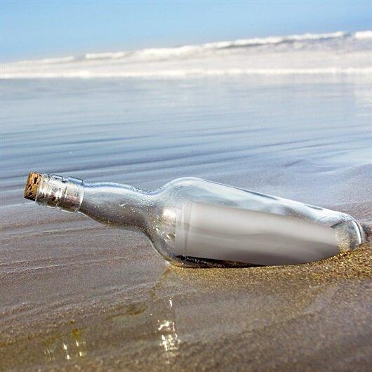 Dünyanın en eski 'şişe mesajı' 132 yıl sonra karaya vurdu