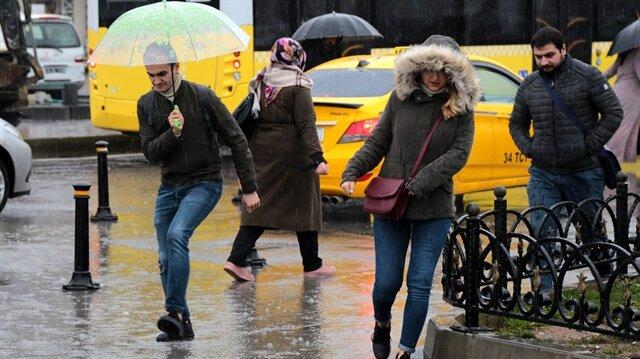 Meteorolojiden 12 ile kuvvetli yağış uyarısı