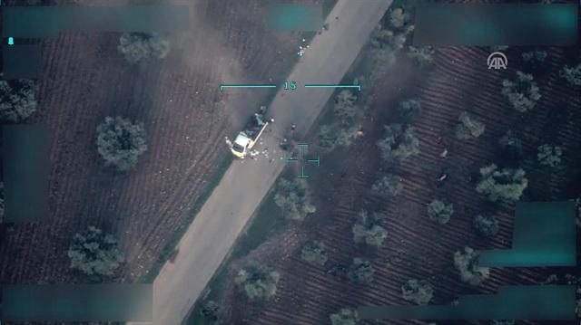 Afrin'de PKK/PYD'nin sivilleri katlettiği anlar böyle görüntülendi