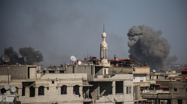 Pro-Damascus commander says eastern Ghouta effectively sliced in two