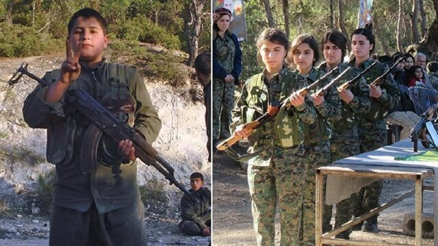Turkey finds proof of YPG  PKK using children for terror