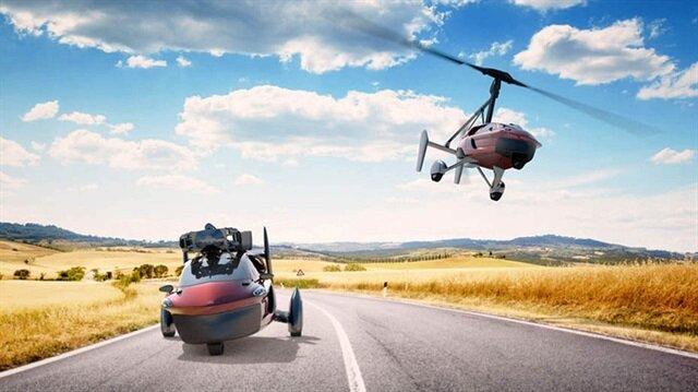 Uçan araba piyasaya çıkıyor: İşte ön sipariş fiyatı