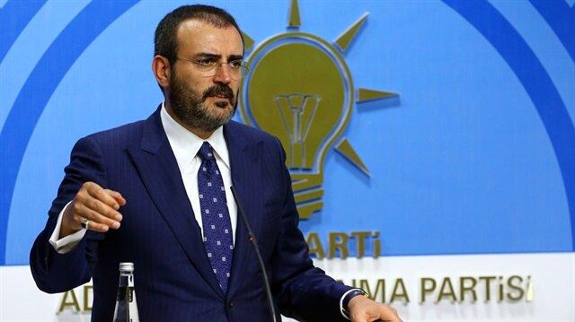 AK Parti Sözcüsü Ünal: Ellerinde silah olanlar sanki çiçek varmış gibi konuşuyor