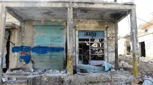 Afrin'deki tahribat gün yüzüne çıktı