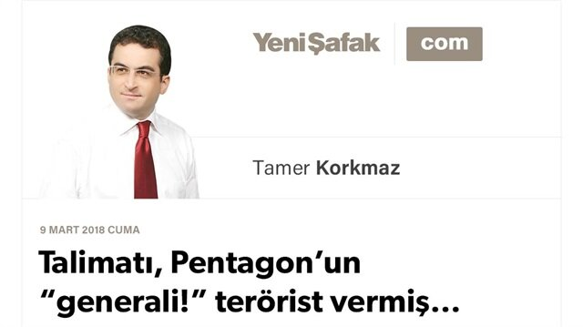 "Talimatı, Pentagon'un ""generali!"" terörist vermiş…"