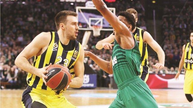 Fenerbahçe Doğuş Erkek Basketbol Takımı, THY Avrupa Ligi'nin 25. hafta maçında deplasmanda Litvanya'nın Zalgiris ekibini 85-78 yendi.