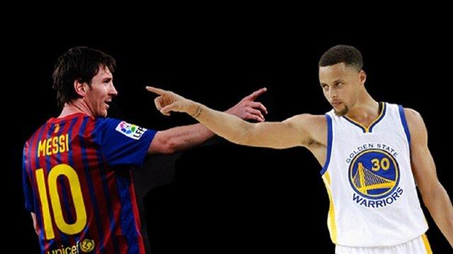 Curry'den Messi değerlendirmesi  geldi.
