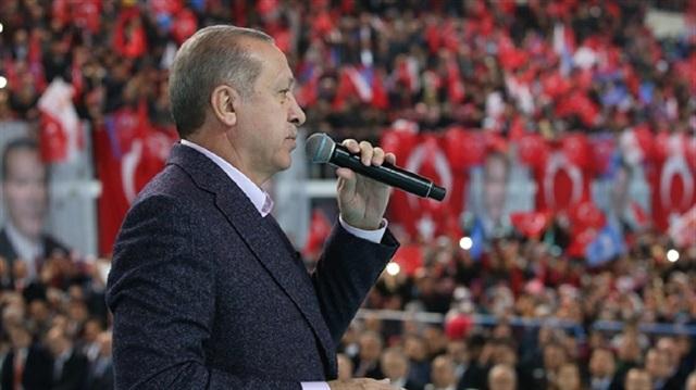 أردوغان: عدد الإرهابيين الذين تم تحييدهم في إطار عملية غصن الزيتون إرتفع إلى 3300