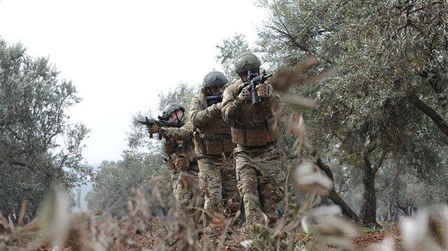 قوات غصن الزيتون تطهّر مطار استراتيجي و8 قرى جديدة في عفرين من التنظيمات الإرهابية