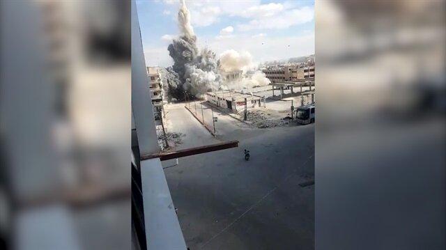 Esed rejimi ve destekçileri İdlib'i yine vurdu!