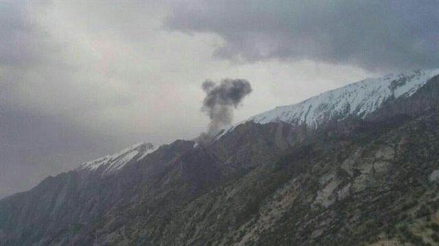 İran'ın güneyinde Türk uçağı düştü
