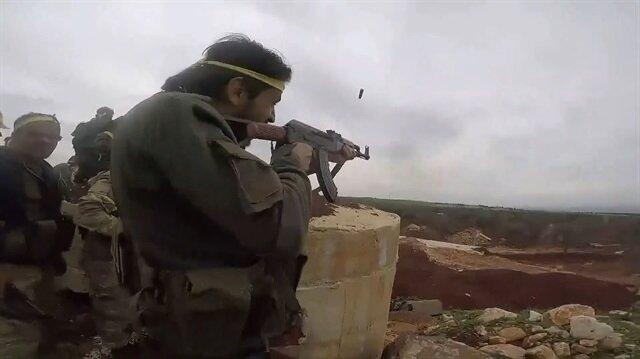 Afrin'de 5 köy daha teröristlerden temizlendi: Sıcak çatışma anları kamerada