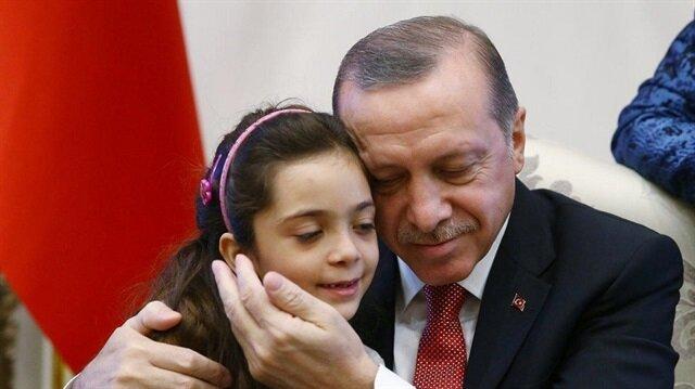 """جمعية دولية تمنح أردوغان """"جائزة السلام الدولية"""" تقديرًا لخدمته أطفالَ اللاجئين"""