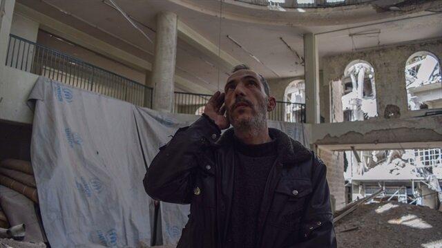 Esed rejiminin yıktığı camide ezanları susturmuyor