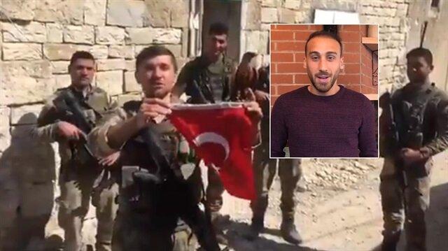 Cenk Tosun Afrin'deki askerlerimize selam gönderdi