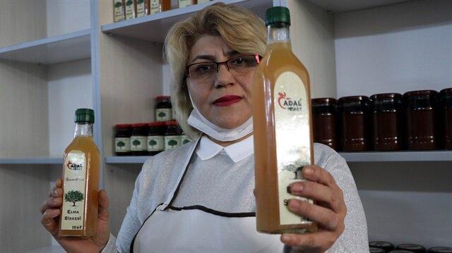 Kadın girişimci KOSGEB desteğiyle ihracatçı oldu