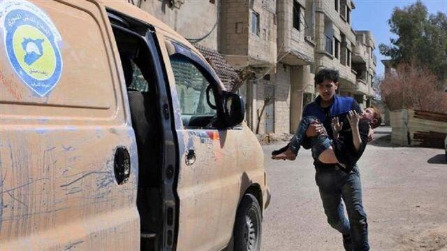 خلال 24 ساعة.. نظام الأسد يقتل 10 مدنيين في الغوطة بدعم من روسيا