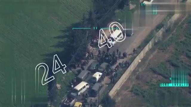 PKK Afrin'den çıkmak isteyen sivilleri zorla canlı kalkan yapıyor