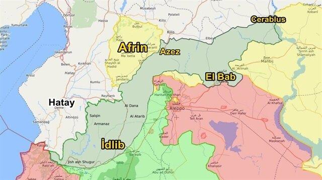 Afrin'de son durum haberimizde.