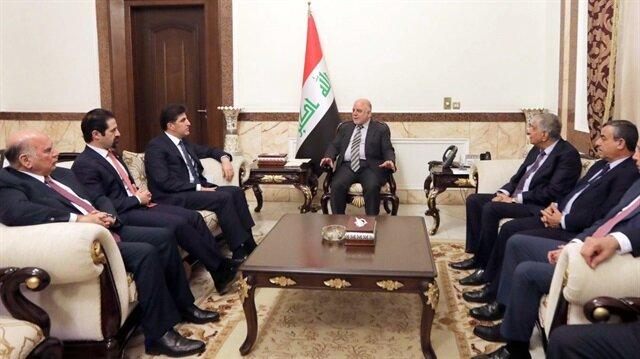 KRG's Prime Minister Nechirvan Barzani in Baghdad