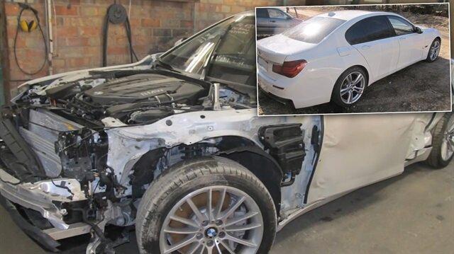 BMW kaporta düzeltme videosu sosyal medyayı salladı