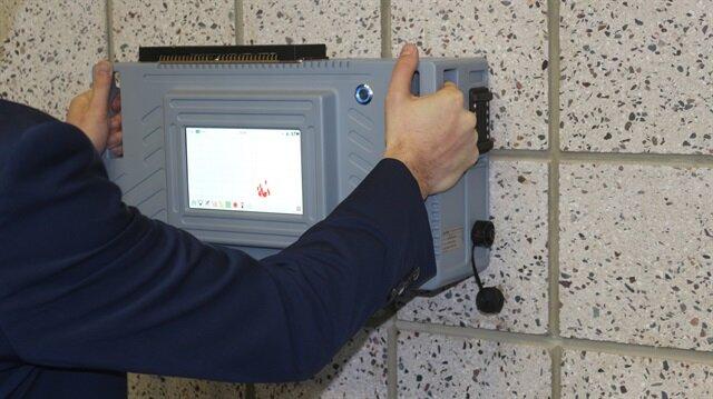 Bu sistem, güvenlik güçlerine, bir oda/kapalı alana girmeden önce içeride canlı var/yok bilgisini alabilme imkanı sağlayacak.