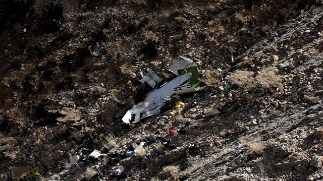 İran'da düşen uçağın kule ile diyaloğu açıklandı.