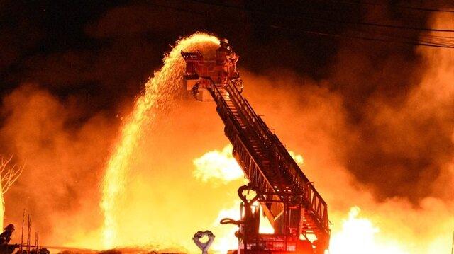 Yangın kuvvetli lodos rüzgarı nedeniyle uzun süre kontrol altına alınamadı