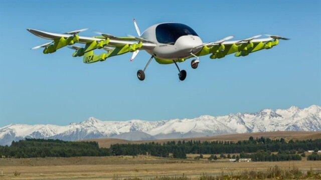 Uçan taksi Cora, kamuoyuna tanıtıldı.