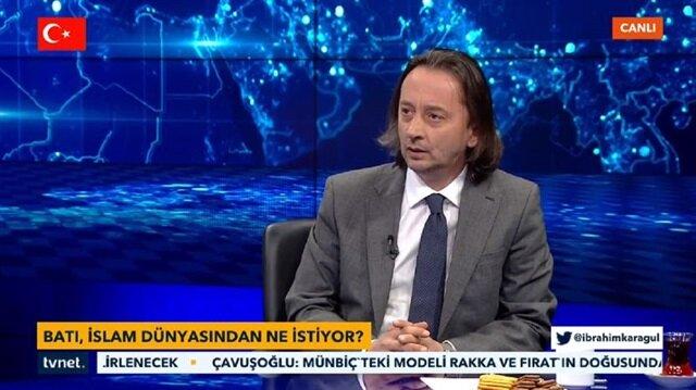 Yeni Şafak ve TVNET Genel Yayın Yönetmeni İbrahim Karagül