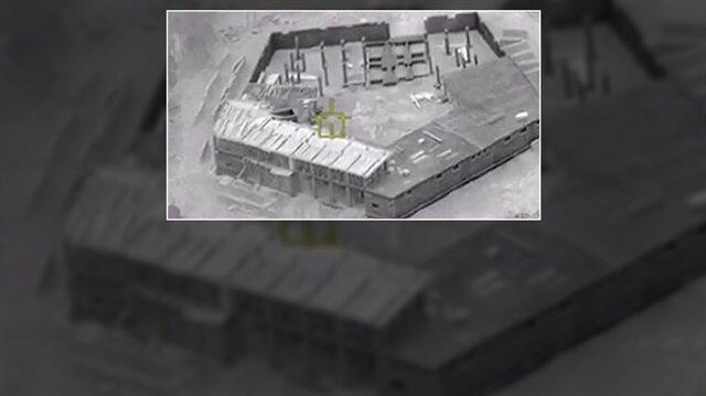 Terör örgütü PKK/YPG'nin Afrin'de Pentagon binasına benzer gizli bir üs inşa ettiği ortaya çıktı.