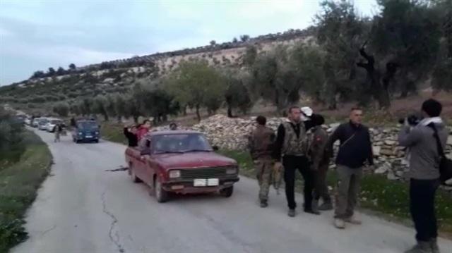 PKK'dan kaçan Afrinliler Türkmenlere sığındı