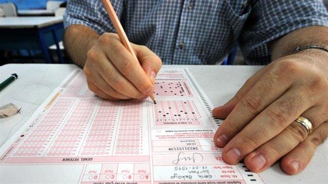 Sınav sonuçları açıklanıyor.