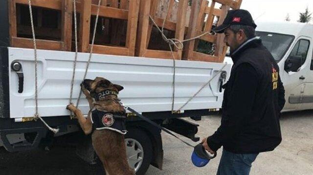 Gardiyanın kullandığı kamyonetten çıkanlar şoke etti