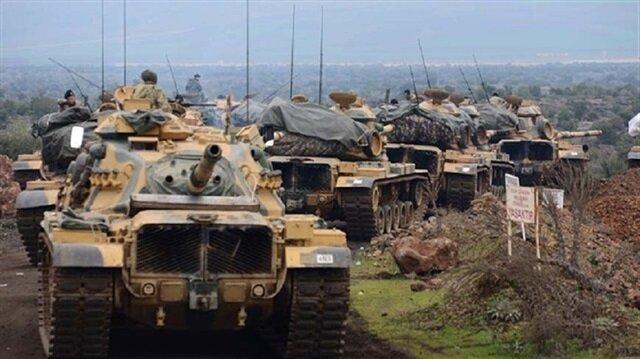 """الجيش التركي: مركز مدينة عفرين محاصر منذ 12 مارس 2018 ضمن عملية """"غصن الزيتون"""""""