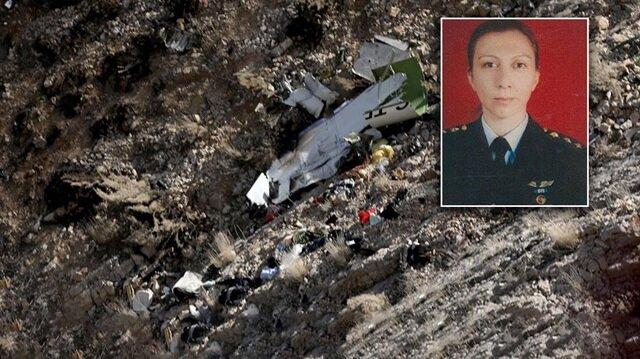 Düşen Türk jetinde pilot olan Melike Kuvvet