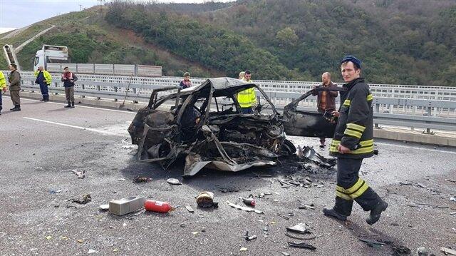 Bursa'daki kazada 2 kişi öldü.
