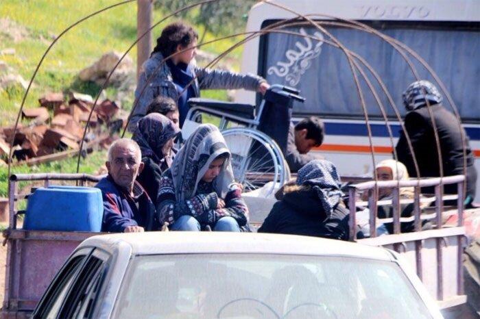 PKK sivillerin Afrin'i terketmesini önlemek için herşeyi yapıyor.