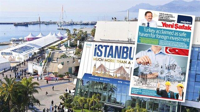 Türk projeleri bu yıl da MIPIM'de ses getirecek