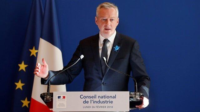Fransa Ekonomi Bakanı Le Maire