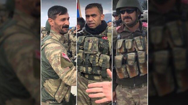 KÖH'ler Afrin'de göreve başladı.