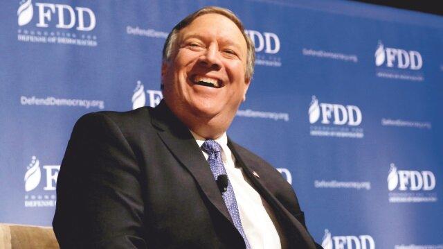 Mike Pompeo, Türkiye'de 15 Temmuz FETÖ darbe girişimine açık destek veren Washington merkezli Demokrasiyi Savunma Vakfı'nın (FDD) toplantısına da katılmıştı.