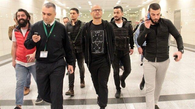 Fenerbahçeli efsane Alex de Souza, uzun bir aranın ardından İstanbul'a geldi.